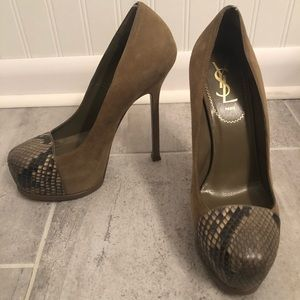 | Yves Saint Laurent | Tribtoo Pumps. Size 38.